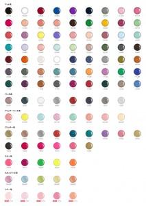 GGcolour chart